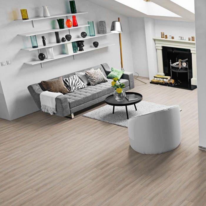 Skaben Design Rhino Click 55 smart Eternal Eiche Greige 1-Stab Landhausdiele 4V Trittschalldämmung Erlebnismodus