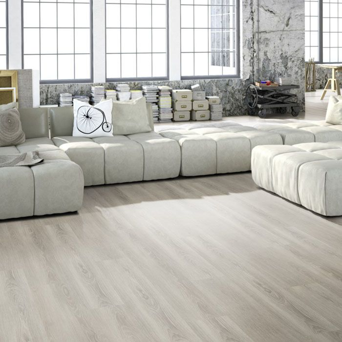 Skaben Design Rhino Click 55 XL Oak crystal grey 1-plank wideplank XL 4V footfall sound insulation