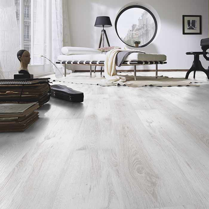 Skaben Laminat Lofty 7 Oak White 1-strip wide plank