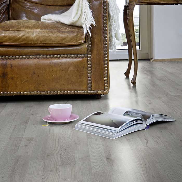 Skaben laminate Lofty 7 autumn oak grey 3-plank ship's floor