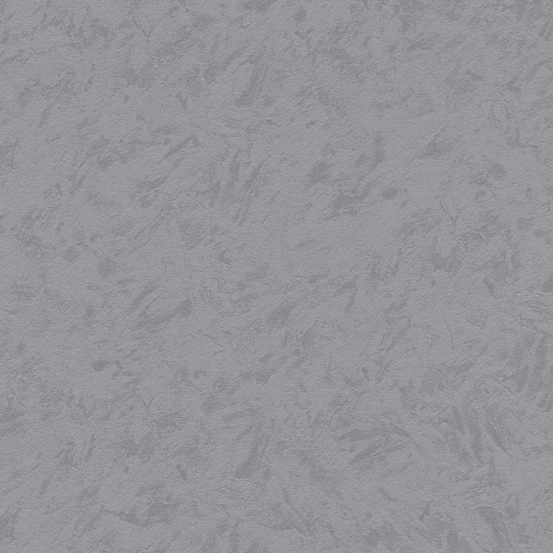 Skaben Tapete Uni - Unitapete Grau / Schwarz 10,05 m x 0,53 m