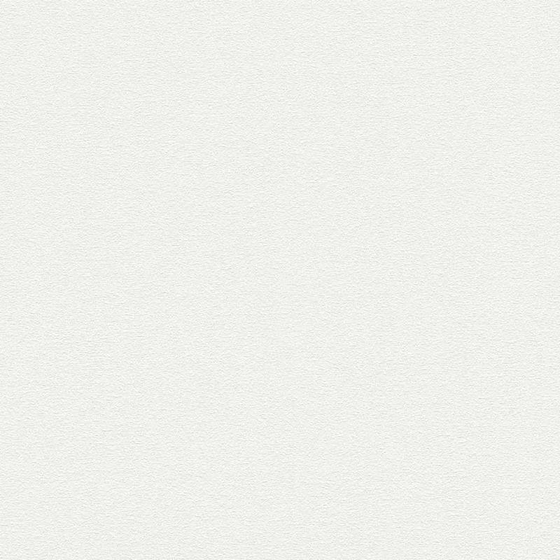 Skaben Tapete Uni - Unitapete Weiß 10,05 m x 0,53 m