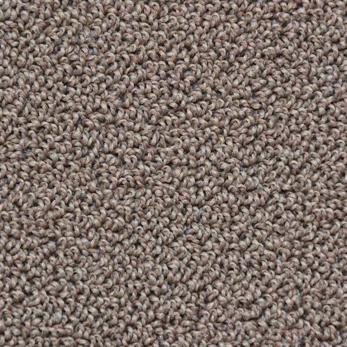 Skaben Teppichboden Indus Crater Braun 400 cm