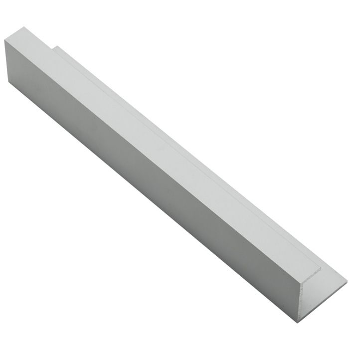 Skaben Ventilationsprofil-Blende 150 mm Aluminium silber eloxiert