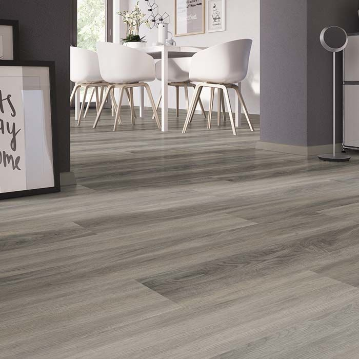 Skaben vinyl flooring solid Life 30 Dockside Oak Light 1-plank wideplank for gluing