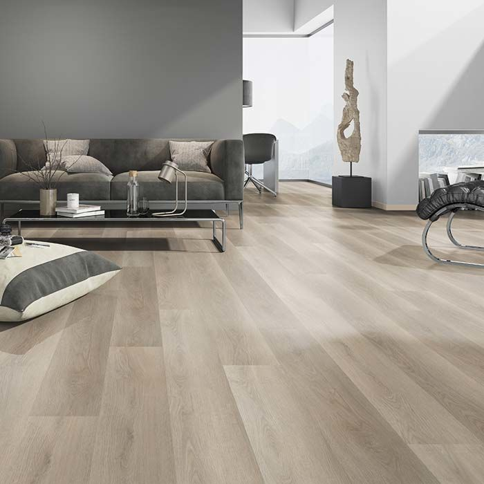 Skaben vinyl floor massive Life 30 oak soft Greige 1-plank wideplank to glue