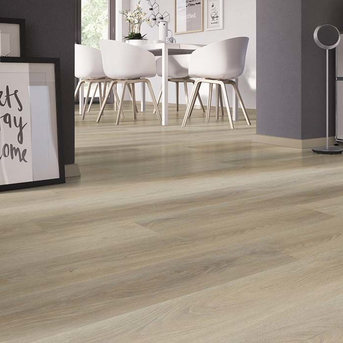 Skaben vinyl flooring solid Life 30 French oak 1-plank wideplank to glue