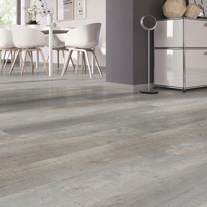 Skaben vinyl floor massive Life 30 Vintage oak Greige 1-plank wideplank to glue