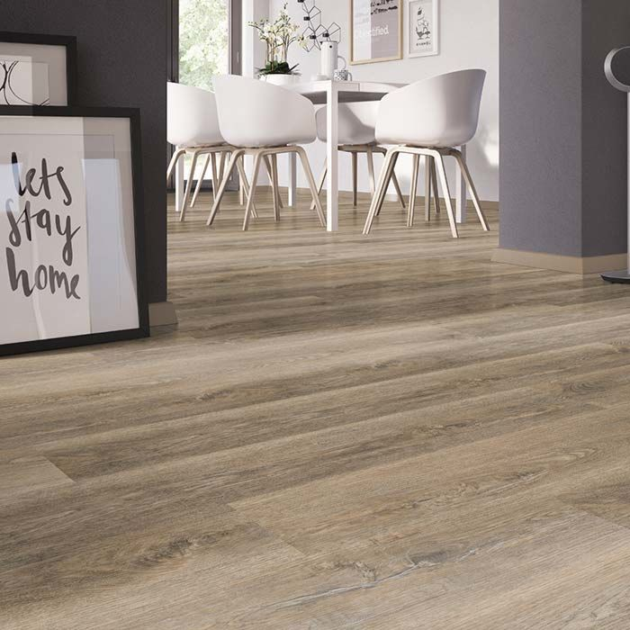 Skaben vinyl floor solid Life Click 30 Authentic oak 1-plank wideplank click here