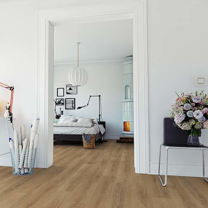 Skaben vinyl floor massive Life Click 30 German oak 1-plank wideplank click here
