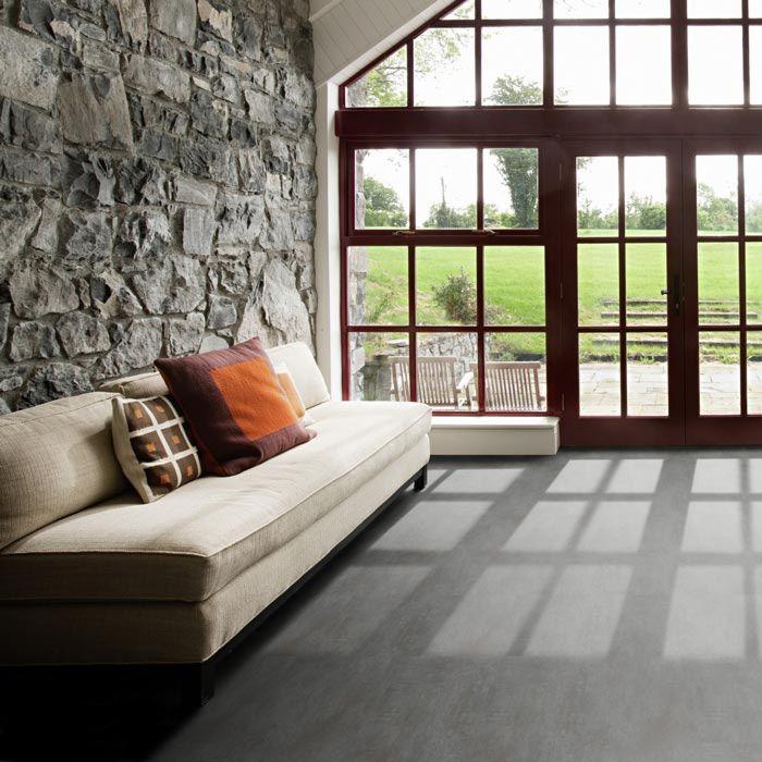 Tarkett Designboden iD Inspiration Click Solid 55 Classics Oxide Black Steel Fliese M4V