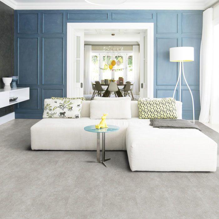 Tarkett Designboden iD Inspiration Click Solid 55 Classics Rock Grey Fliese M4V