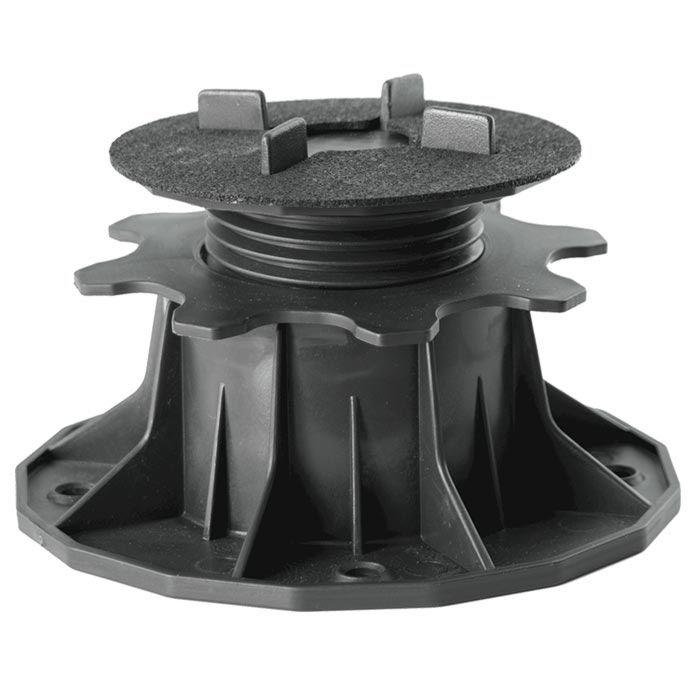 Terrassenlager Profi - höhenverstellbarer Träger zum Unterbau und Höhenausgleich 34-70mm