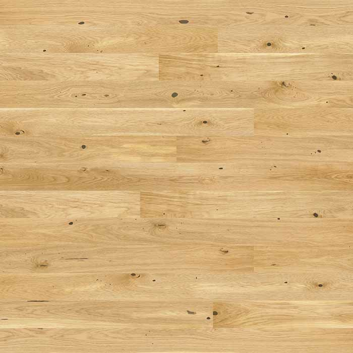 Skaben Parquet Premium 1-strip wide plank Oak Rustic naturally oiled raw wood look brushed 180mm Width M4V