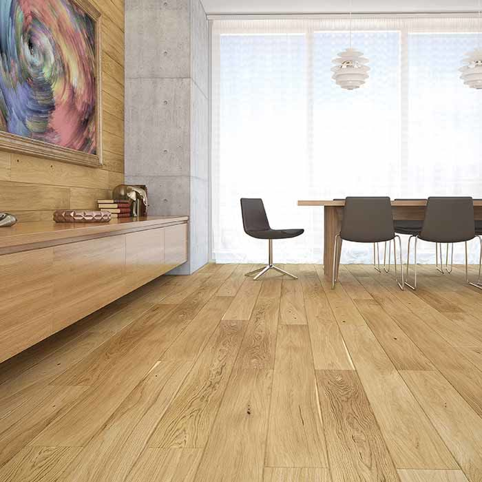 Skaben engineered wood flooring Premium 1-plank wideplank oak ambience extra matt sealed 4V
