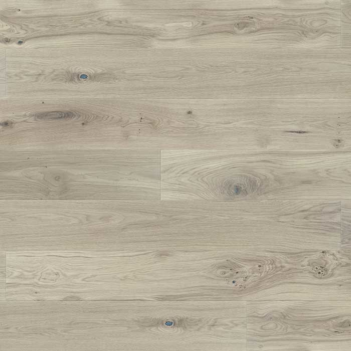 Skaben Parquet Premium 1-strip wide plank Oak Rustic naturally oiled light grey brushed M4V