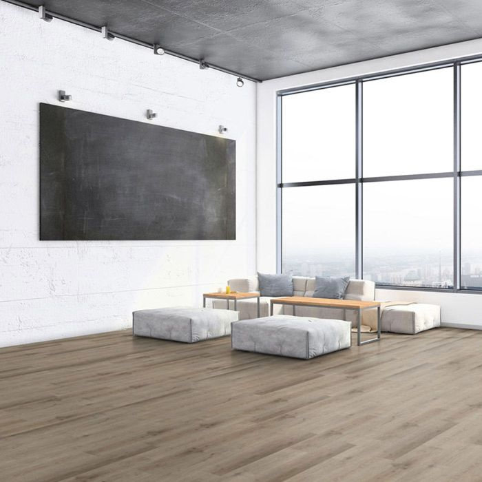 Tarkett Designboden iD Click Ultimate 55 Plus Light Oak Brown Planke 4V Akustikrücken Erlebnismodus