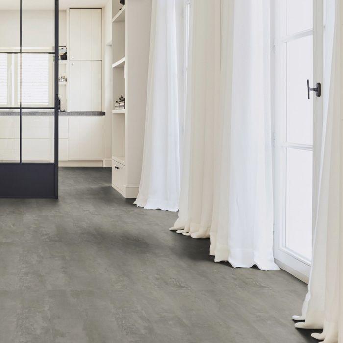 Tarkett Designboden iD Inspiration Click 55 Plus Rough Concrete Dark Grey Fliese 4V