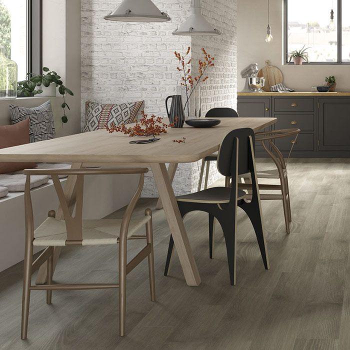 Tarkett Designboden Starfloor Click Ultimate 30 Plus Galloway Oak Grey Brown Pl. M4V Akustikrücken