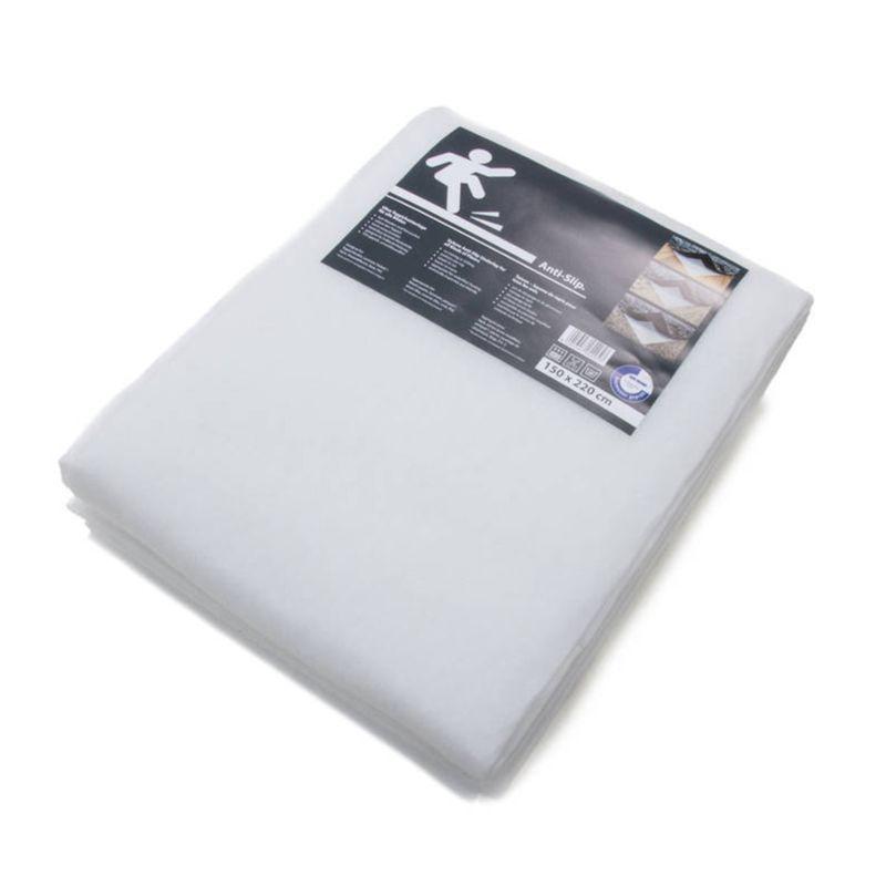 Teppichunterlage Antirutschmatte Anti-Slip Weiß rechteckig Höhe 2,5 mm