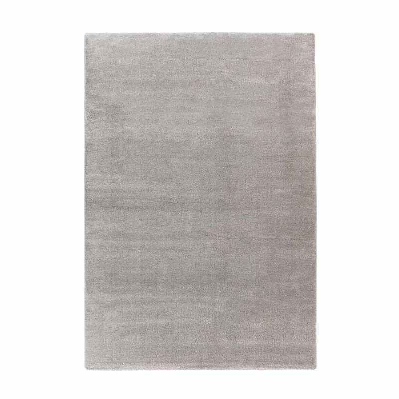 Weicher Hochflorteppich Grau CLASSIC rechteckig Höhe 20 mm