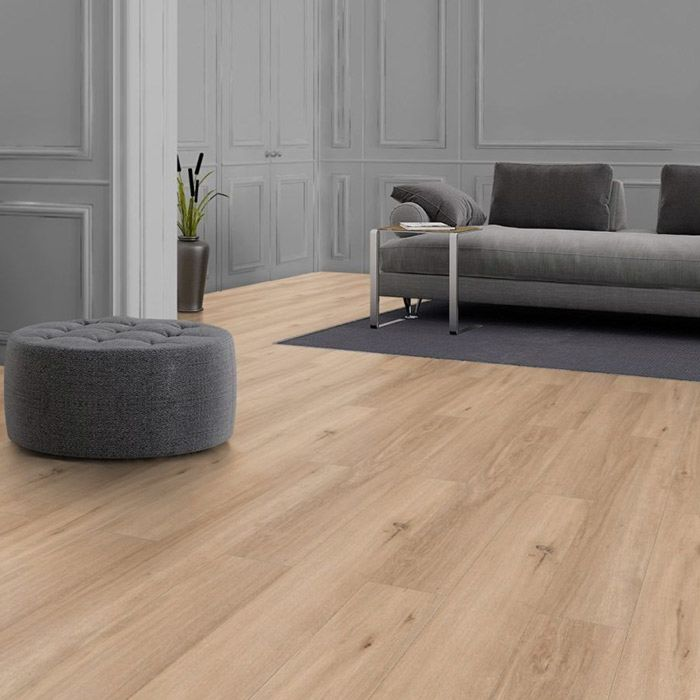 Classen Design flooring NEO 2.0 Wood Untainted Douglas Fir 1-strip full plank 4V for clicking in