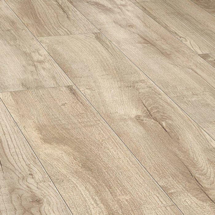 HARO Korkboden CORKETT Shabby Oak weiß Arteo XL 4V Kork-Trittschalldämmung