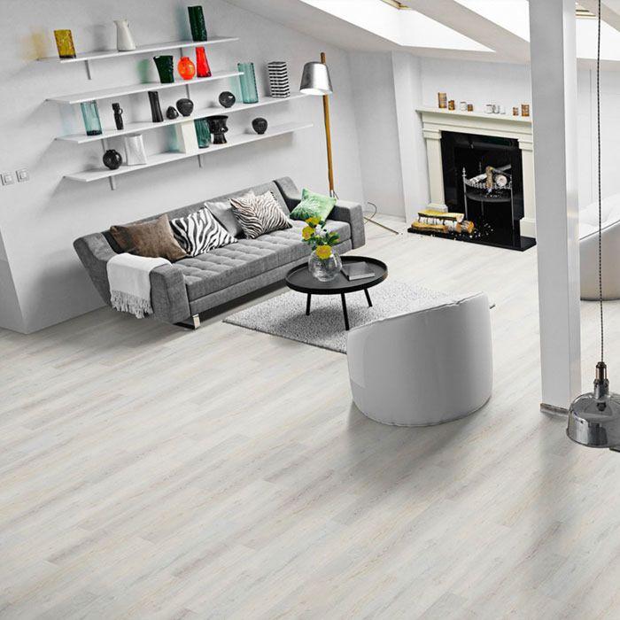 Skaben Design Rhino Click 30 Sea Oak White 1-strip wide plank M4V footfall sound insulation