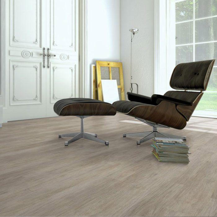 Skaben Vinyl Floor solid Life Click 55 Mountain oak Greige 1-plank wideplank 4V to click
