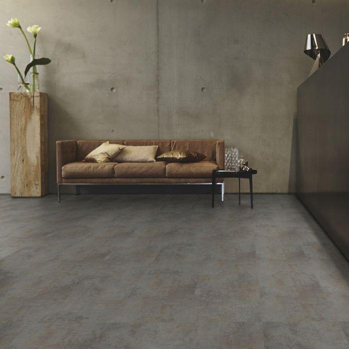 Tarkett Designboden iD Inspiration Click 55 Oxide Steel Fliese 4V Erlebnismodus