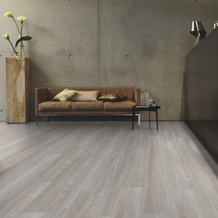 Tarkett Design Flooring iD Inspiration Click 55 Patina Ash Grey Plank 4V