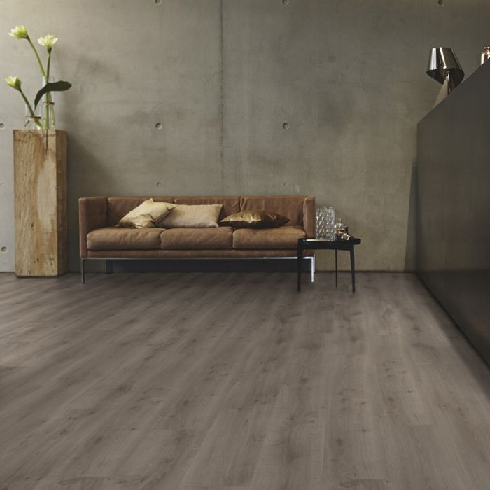 Tarkett Design Flooring iD Inspiration Click 55 Rustic Oak Dark Grey Plank 4V