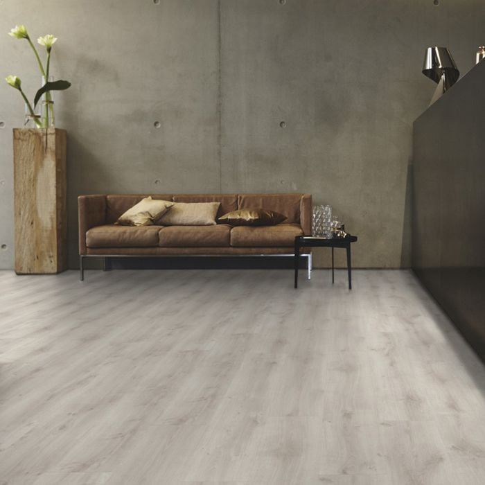 Tarkett Design Flooring iD Inspiration Click 55 Rustic Oak Light Grey Plank 4V
