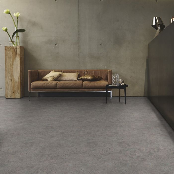 Tarkett Design Flooring iD Inspiration Click 55 Terrazzo Grey Tile 4V