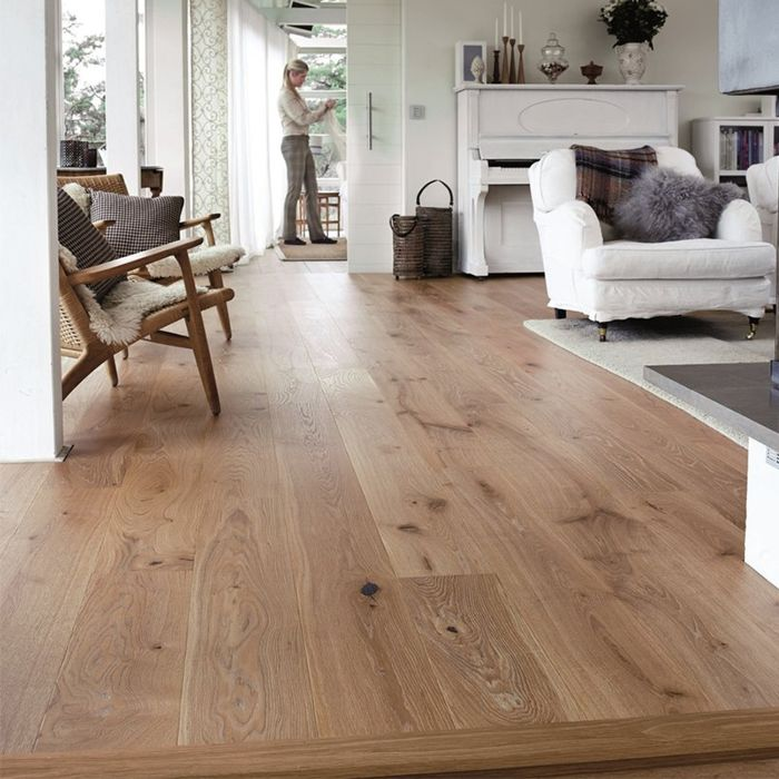 Tarkett Parquet Heritage Super-rustic Oak Blonde 1-strip plank M2V