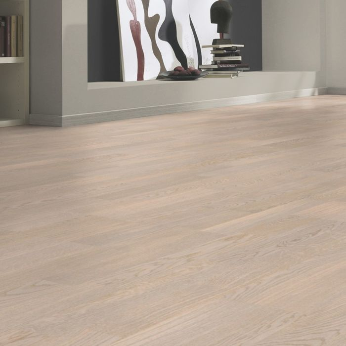 Tarkett Parquet Shade Nature Oak Cotton White 2-strip / Duoplank