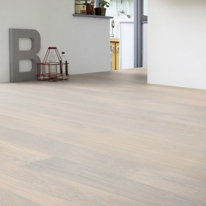 Tarkett Parquet Shade Robust Oak Cotton White 1-strip / plank XT M2V