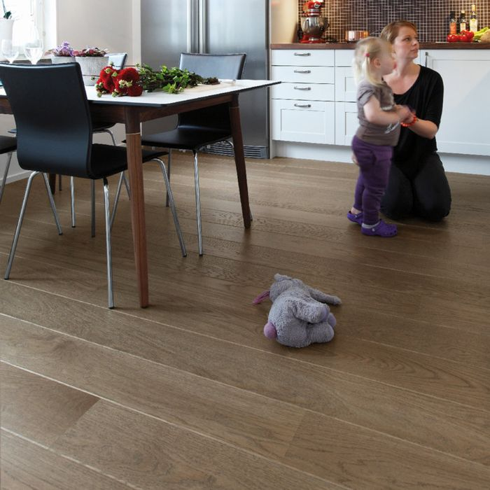 Tarkett Parquet Shade Robust Shade Oak Stone Grey 1-strip plank M2V