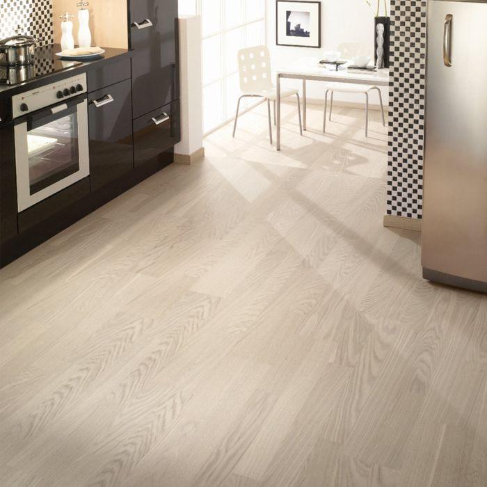 Tarkett Parquet Viva 2-Strip Nature Oak White 2-strip plank
