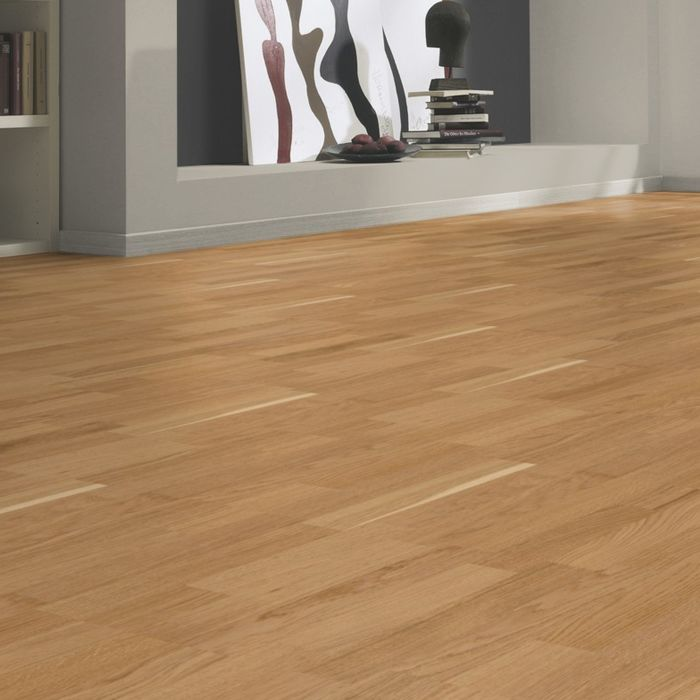 Tarkett Parquet Viva 3-Strip Robust Oak 3-strip plank Proteco Lacquer