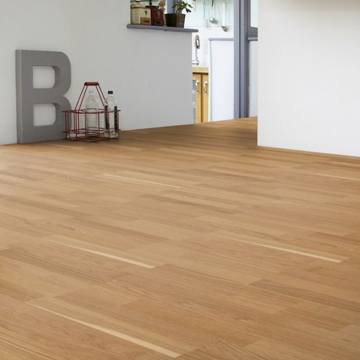 Tarkett Parquet Viva 3-Strip Robust Oak 3-strip plank Proteco Natura