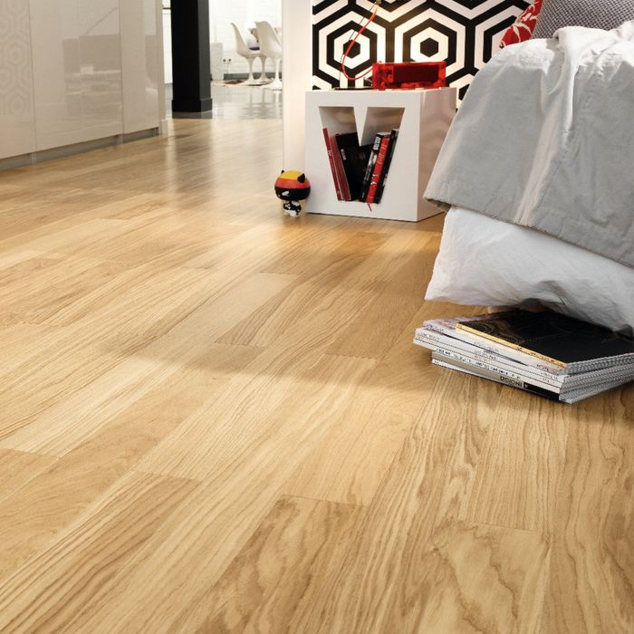 Parquet flooring Viva Line Natur oak wideplank M4V Proteco Natura, brushed