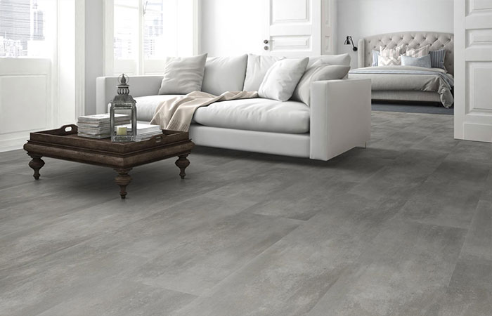 Vinyl Aktionsware Cement Natural