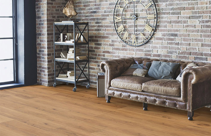 Wicanders Parquet Special Offer Oak Rustic Brownsville Knotty Wide Plank