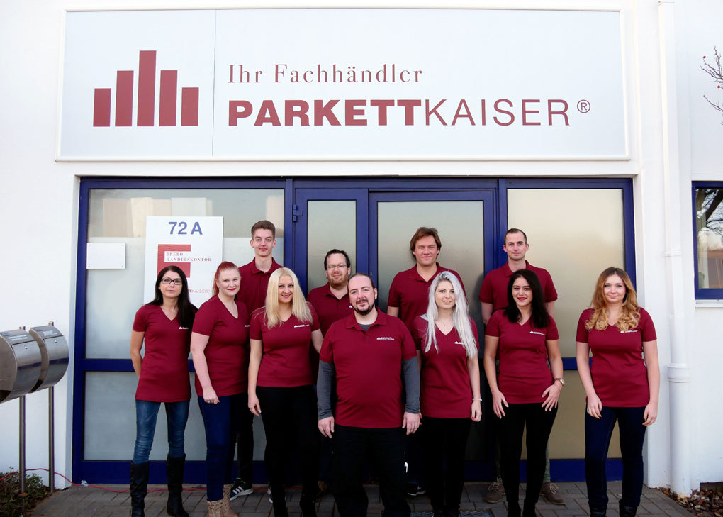 Parkettkaiser-Service-Team