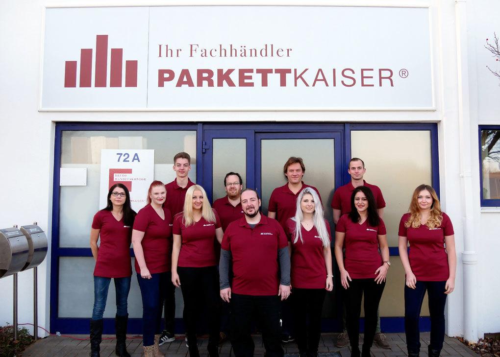 Parkettkaiser-Service-Team